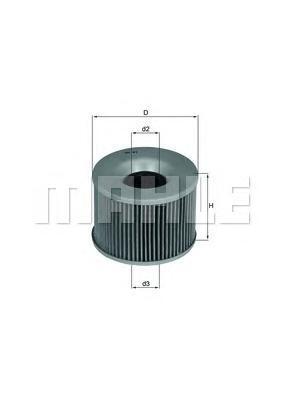 OX61D Фильтр масляный HONDA 500/550/650 (moto)
