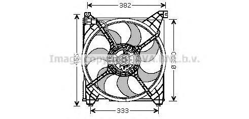 hy7508 Вентилятор, охлаждение двигателя