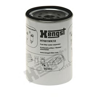 H7091WK10 Фильтр топливный DAEWOO: PRIMA 09- IVECO: Stralis 02 -, Strator 10- MERCEDES-BENZ: CITARO 98- SETRA: Series 400 01-