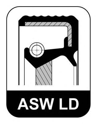 242993 Сальник 40x55x8 ASW F LD ACM BMW: E30/E28/E34/E32 1.6-3.8 75-97