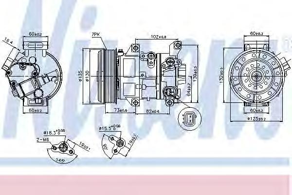 89337 Компрессор TO Avensis 03-08