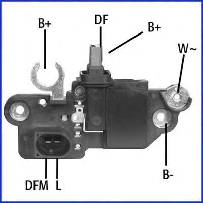 130573 Регулятор генератора VAG