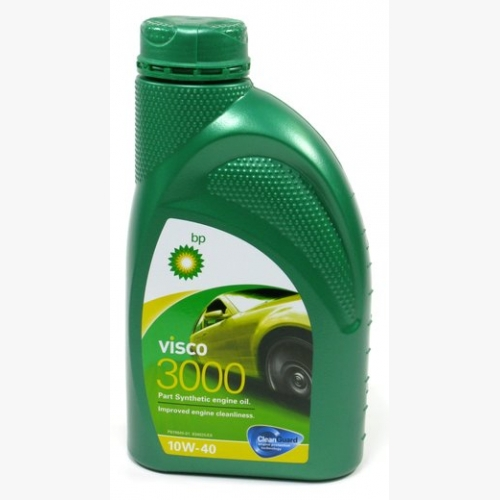 157F38 Масло моторное 10W40 BP 1л полусинтетика Visco 3000 A3/B4