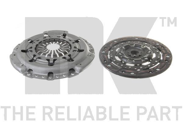 132591 Комплект сцепления, без выжимного подшипника / FORD Mondeo-III 1.8/2.0 Duratec HE (230mm) 10/00~