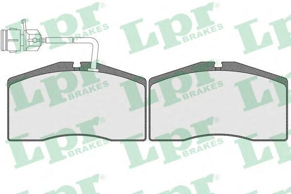 05P1675 Колодки тормозные AUDI A8/S8 QUATTRO 95-02 передние