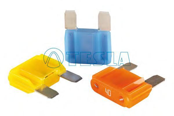FX60A10 Предохранитель флажковый MAXI FX 60A синий (уп. 10 шт.)