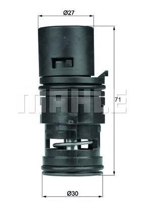 TO775 Термостат BMW E83 2.5/3.0 06-