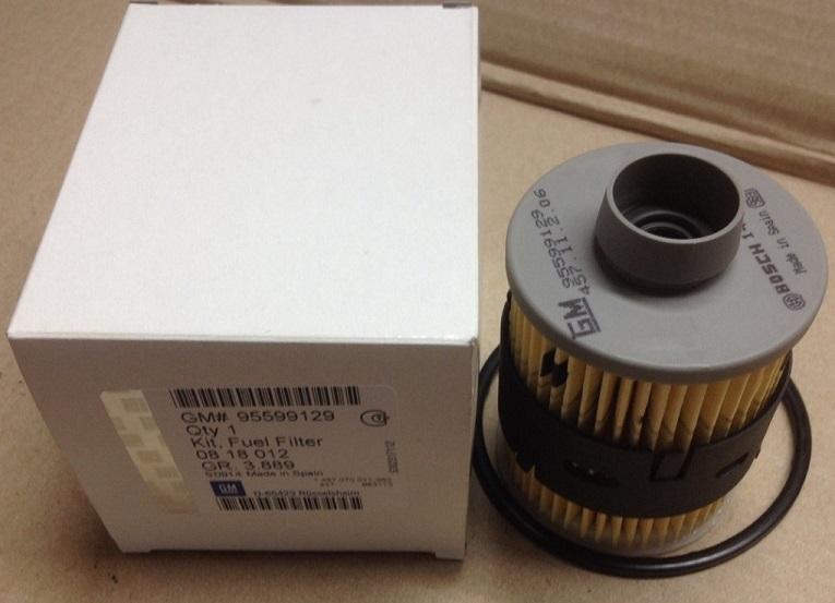 0818012 Фильтр топливный OPEL (1.3/1.7/1.9 дизель)