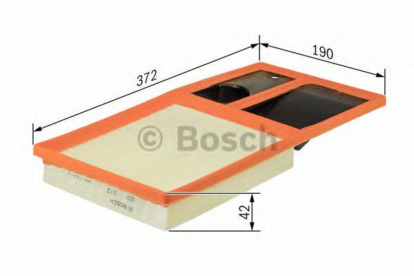 F026400035 Фильтр воздушный VAG G5/FABIA 1.4-1.6