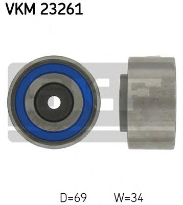 VKM23261 Ролик ремня ГРМ CITROEN C5/PEUGEOT 407/607/LAND ROVER 2.5/2.7D/3.0D