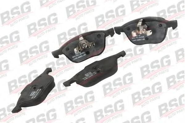 BSG30200020 Колодки тормозные дисковые передние / FORD Focus C-MAX 1.6-2.0; Focus-II; MAZDA-3/5,VOLVO C30/S40/V50 (без датчиков)