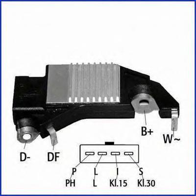 130013 Реле регулятор генератора 14V электронное. DE