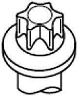 HBS260 Комплект болтов ГБЦ Citroen Xsara, Peugeot 1.8 (XU7JB) 97