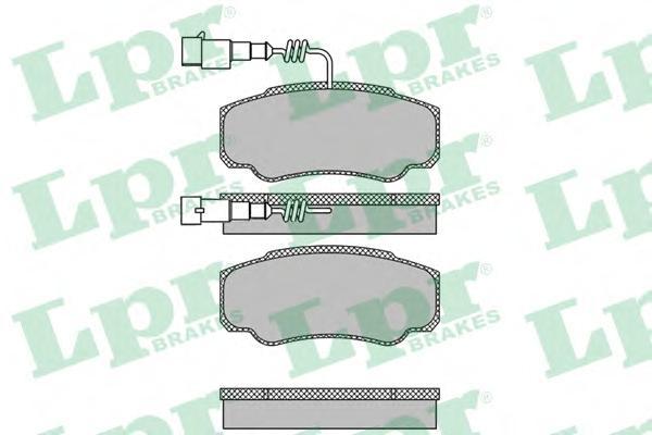05P1662 Колодки тормозные NISSAN CABSTAR 06-/RENAULT MAXITY 07- задние