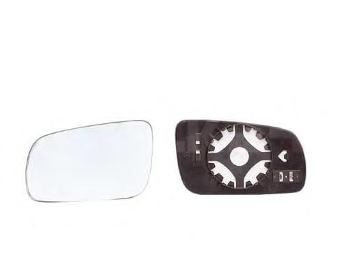 6439127 Стекло зеркала левое, асферическое с подогревом / SEAT,VW Passat-V,Polo,Sharan