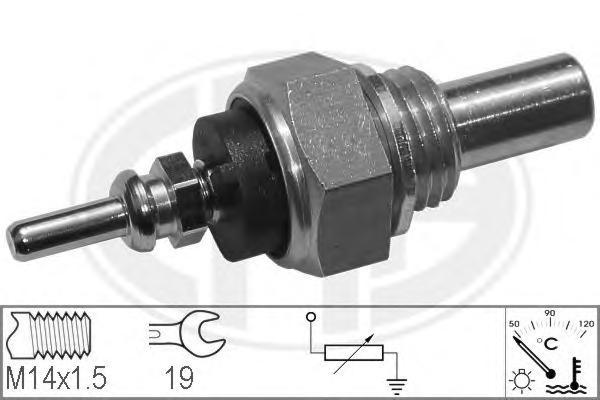 330104 Датчик температуры охлаждающей жидкости DAEWOO: KORANDO (KJ) 2.9 D/2.9 TD/3.2 4x4 99-, KORANDO Cabrio (KJ) 2.9 D/2.9 TD 9