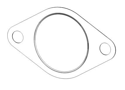 1316608 Прокладка приемной трубы Duratec 1.8/1.6/2.0