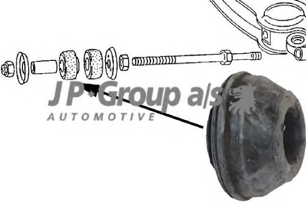1140201200 Сайлентблок рычага передней подвески, нижнего / VW Transporter T-2 79 - 92