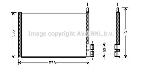 FDA5328 Радиатор кондиционера FORD: FIESTA V (JH_, JD_) 1.25 16V/1.3/1.4 16V/1.4 TDCi/1.6 16V/ST150 01 - , FUSION (JU_) 1.25/1.4