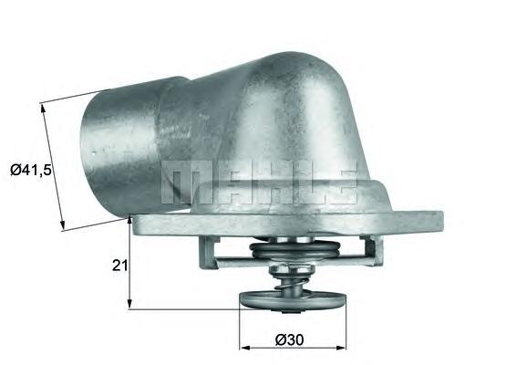 TI4692D Термостат в корпусе (92*C) OP 2.5,2.6,3.0 94-