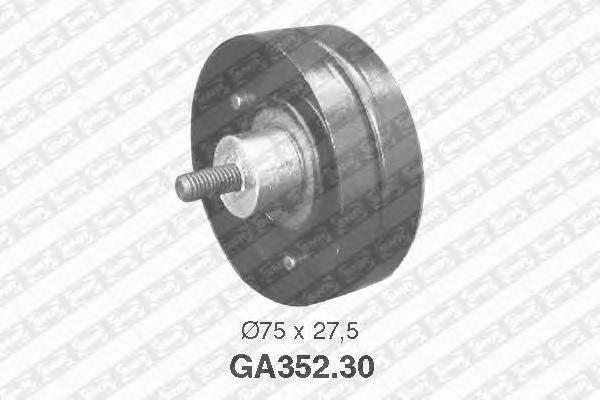 GA35230 Деталь GA352.30_pолик обводной! с кондиц