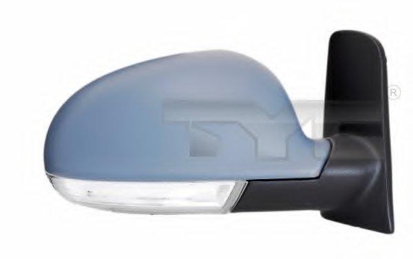 PMG4039M01 Зеркало наружное в сборе лев, электр, с подогр, асферич, грунт,с указат повор  VW: SHARAN - 06-10