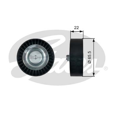 T36458 Ролик ремня приводного KIA CEED/CERATO 06-/RIO 06-/VENGA 10- DIESEL