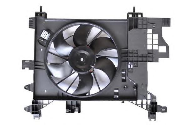 32101 Вентилятор радиатора RENAULT DUSTER 1.5DCi