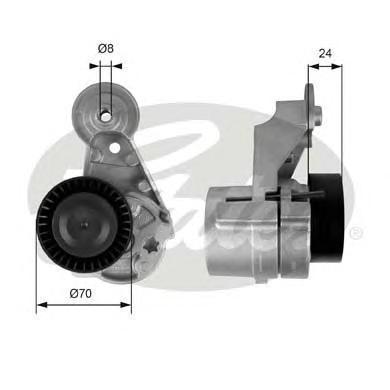 T39025 Ролик приводного ремня Volvo 2.4D 01