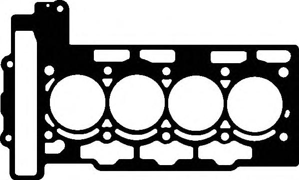 729050 Прокладка ГБЦ Citroen. Peugeot 1.4 16V EP3 09