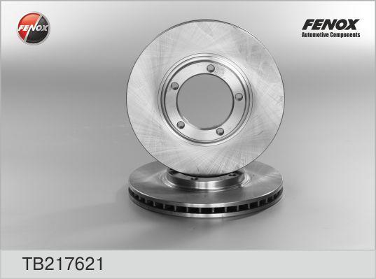 TB217621 Диск тормозной  MITSUBISHI Space Gear 95-00/L300 94-/L400 96-