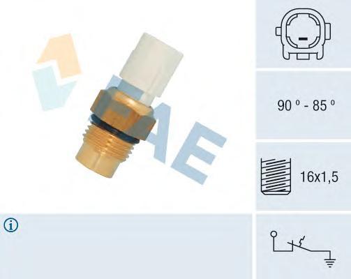 36710 Термовыключатель вентилятора Toyota, GMC