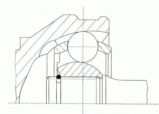 304606 ШРУС CITROEN JUMPER/FIAT DUCATO/PEUGEOT BOXER 06- внутр.лев.