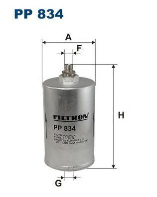 PP834 Фильтр топливный MB W202/W124/W460/W126/W201 1.8-6.0
