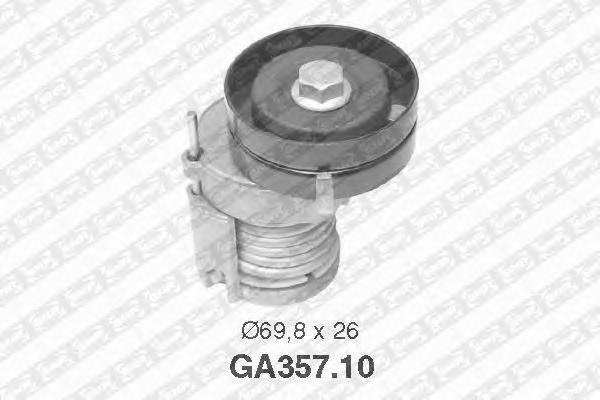 GA35710 Натяжитель ремня приводного AUDI A2/GOLF 4/BORA 1.4-1.6