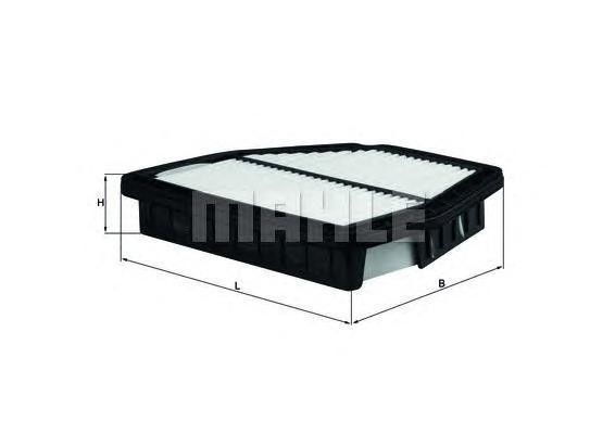 LX2965 Фильтр воздушный CHEVROLET CAPTIVA 2.0D/2.4/3.2 06-