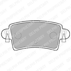 LP1747 Колодки тормозные NISSAN INTERSTAR/OPEL MOVANO/RENAULT MASTER 98- задние