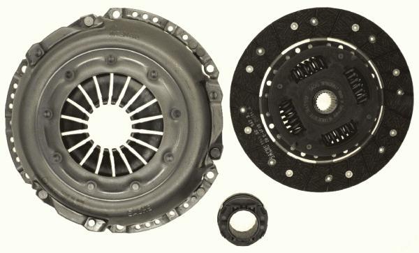 3000232001 Сцепление к-т AUDI 100/80/90/A6 2.0-2.3 84-96