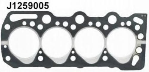 J1259005 Прокладка ГБЦ OPEL ASTRA/VECTRA 1.6/1.7D 1.5мм 90-00