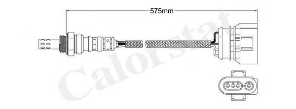 LS140013 Лямбда-зонд AUDI: A4 2.4/2.4 quattro/2.8/2.8 quattro 94-01, A4 Avant 2.4/2.4 quattro/2.8/2.8 quattro 94-01, A6 1.8/1.8