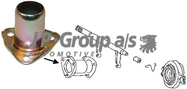 8130300100 Направляющая втулка выж.подшипника / AUDI 80, 100; VW Passat, T2 1.3-2.5D ~92