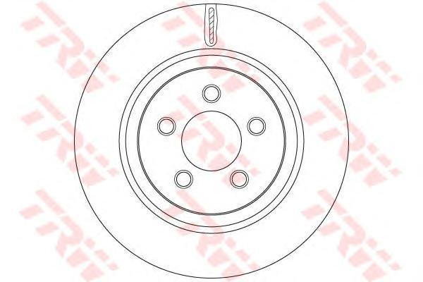 DF6263 Диск тормозной JEEP CHEROKEE 10- передний вент.D=332мм.