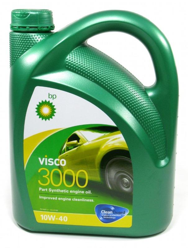 157F36 Масло моторное 10W40 BP 4л полусинтетика Visco 3000 A3/B4