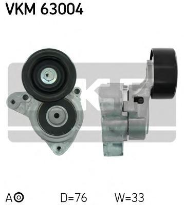 VKM63004 Натяжитель ремня приводного HONDA CR-V/ACCORD 2.0/2.4 06-
