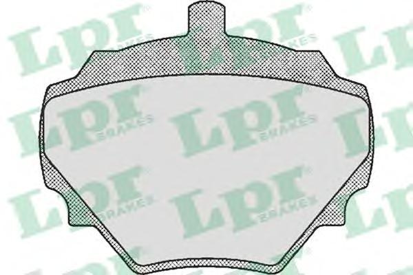 05P392 Колодки тормозные LAND ROVER DEFENDER/DISCOVERY -98/RANGE ROVER -94 задние