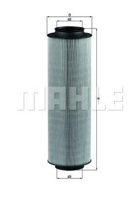 LX791 Фильтр воздушный MERCEDES-BENZ: A-CLASS 98-04, VANEO 02-