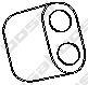 255819 Подвеска глушителя OPEL OMEGA 1.8-3.0 88-94