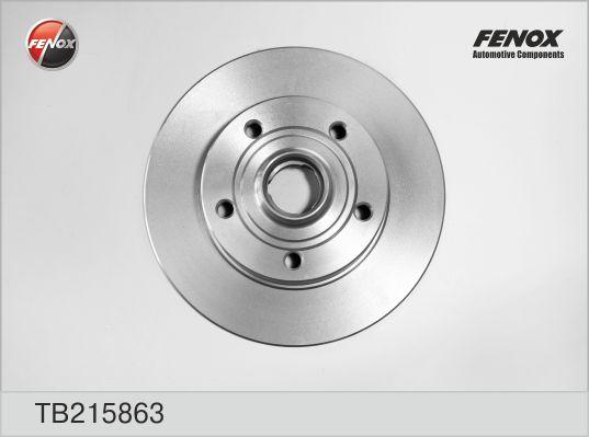 TB215863 Диск тормозной AUDI A4 1.6-2.8 95-01 задний D=245мм.