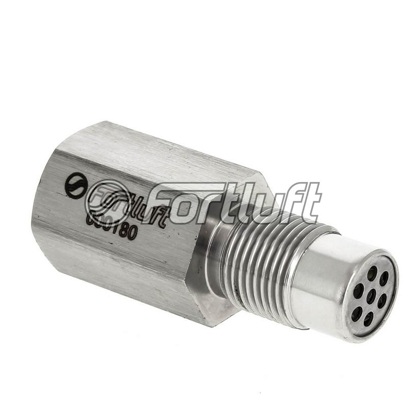 000180 Обманка датчика кислорода прямая с мини катализатором