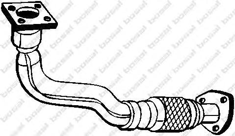 753177 Труба приемная VW GOLF/PASSAT 1.8 91-95